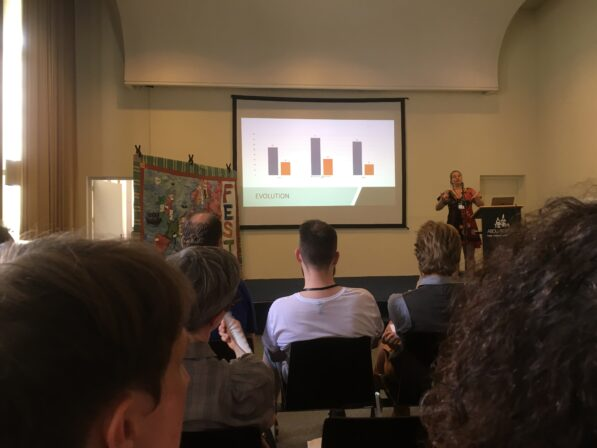 The annual assembly of FEST-Conference with Katty presenting results from the last year funds